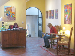 "Photos taken at the Bordello Gallery in the ""Casa de la Noche"" gallery/BandB"